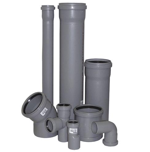 Труби та фітинги для каналізації