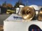 Комплект радиаторных кранов угловой Tiemme 1/2 с уплотнительными кольцами 4
