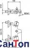 Смеситель термостатический для ванны Armatura 0