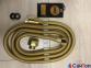 Шланг для душа и биде Kohan 1500мм антибактериальный-растяжной, цвет золото 1