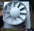 Вентилятор побутовий витяжний HARDI 20x20 d150 з механічними жалюзі і вимикачем 3
