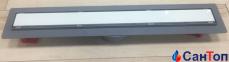 Трап для душа Valtemo Euroline Arty 600 мм, боковой отвод 50 мм 0