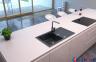 Гранитная кухонная мойка AXIS Malibu 40, черная 2