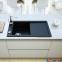 Гранитная кухонная мойка AXIS Tramontana, черная 1