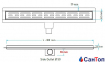 Трап для душа Valtemo Starline Base 30см 50 боковой выход с гидроизоляцией 0