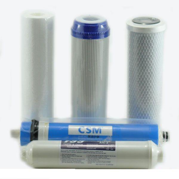Картриджі для водяних фільтрів та аксесуари