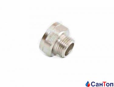 Муфта редукционная никель LEXLINE 3/8 НРх1/2 РВ
