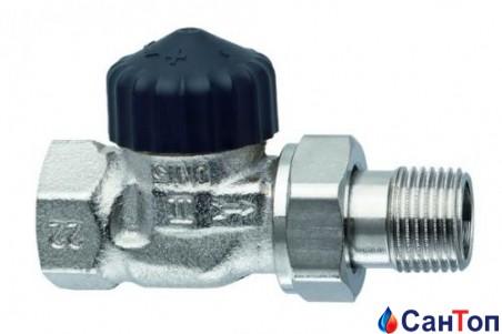 Термостатический клапан проходной, короткий Heimeier Standart 1/2