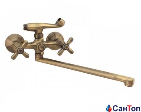 Смеситель для ванны Haiba Dominox 143 Bronze