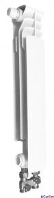 Радиатор алюминиевый Armatura G500 F/D, правая секция (нижнее прямое подключение)