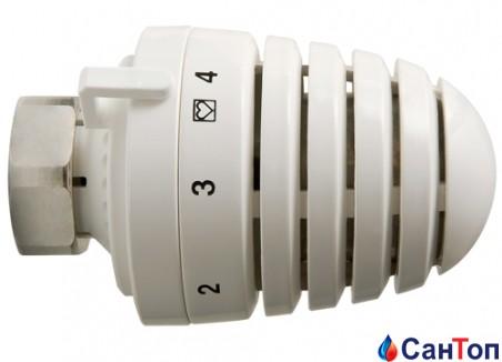 Термостатическая головка Herz-Design H 9260 М 30х1,5   для монтажа на радиаторах со встроенным клапаном