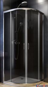Душевая кабина Aquaform Nigra 900/1850 полукруглая с поддоном и ножками