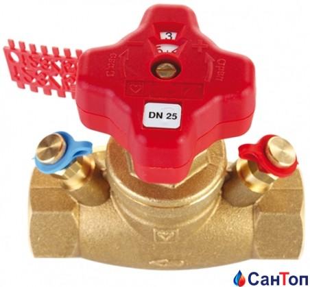 Балансировочный вентиль HERZ 4217 STROMAX-GM DN15 (6 Kvs)