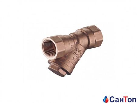 Фильтр косой для газа латунный Armatura 1