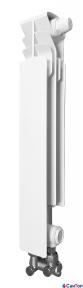 Радиатор алюминиевый Armatura G500 F/D, левая секция (нижнее угловое подключение)