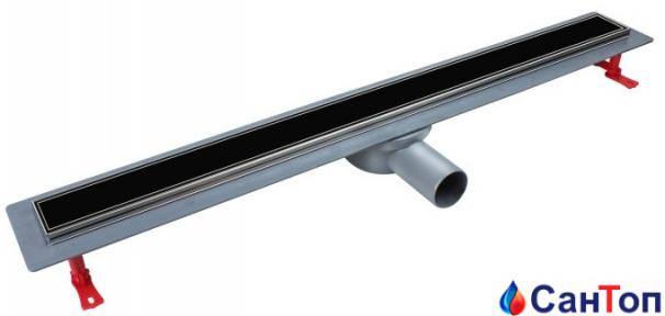 Трап для душа Valtemo Euroline Arty 500 мм, боковой отвод 50 мм