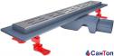 Трап для душа Valtemo Starline Base 80см 50 боковой выход с гидроизоляцией