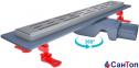 Трап для душа Valtemo Smartline Base 500 мм, боковой выход 50 мм