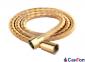 Шланг для душа и биде Kohan 1500мм антибактериальный-растяжной, волнистый, цвет золото