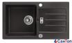 Гранитная кухонная мойка AXIS Malibu 40, черная